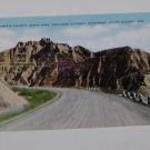 Vintage Postcard Dantes Delight Cedar Pass Badlands South Dakota