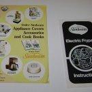 Vintage Sunbeam Frypan instructions & Accessories Brochure