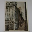 "Vintage Postcard ""THe Broadway Canyon"" New York City"