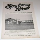 Sportsmen's Review Trapshooting Magazine january 1 1953