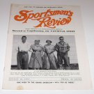 Sportsmen's Review Trapshooting Magazine august 16 1952