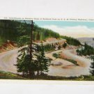 Vintage Postcard Switchbacks Berthoud Pass US HWY 40 (Victory Highway) Colorado