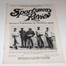 Sportsmen's Review Trapshooting Magazine october 15 1952