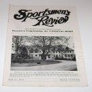 Sportsmen's Review Trapshooting Magazine may 31 1952