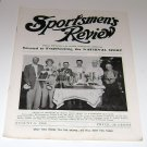 Sportsmen's Review Trapshooting Magazine august 5 1950