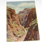 Vintage Postcard Royal Gorge Highest Suspension Bridge Colorado