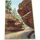 Vintage Postcard The Narrows Williams Canon Manitou Springs Colorado