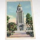 Vintage Postcard Nebraska State Capitol Tower Lincoln