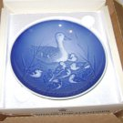 Bing and Grondahl 1973 Mothers Day Plate B&G  Ducks