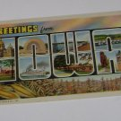 Vintage Postcard  Greetings From Iowa several pictures
