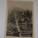 Vintage Postcard Lower Manhattan New York City 1930's