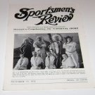 Sportsmen's Review Trapshooting Magazine november 15 1952