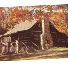 Vintage Postcard Old Matts Cabin Branson MO Shepherd Of The Hills
