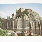"Vintage Postcard The Castle of the Counts ""Het Gravenkasteel"" Belgium"