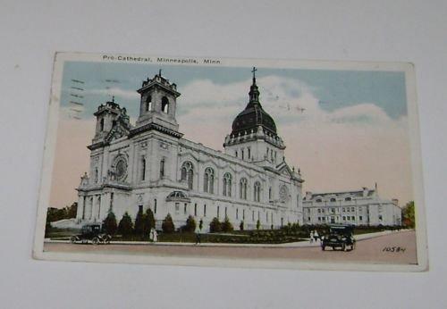 Vintage Postcard Pro Cathedral Minneapolis Minnesota