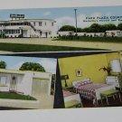 Vintage Postcard Park Plaza Courts Nashville Tennesee