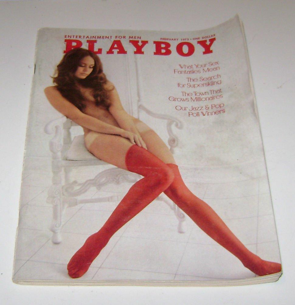 Playboy Magazine February 1973