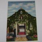 Vintage Postcard Nuestra Senora De La Leche St Augustine FLorida