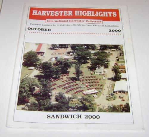 Harvester Highlights Magazine International Harvester Collectors October 2000