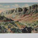 "Shell Canon ""Garden Wall"" HWY 14 Wyoming  Postcard"