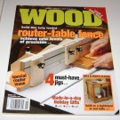 Better Homes and Gardens WOOD magazine Issue 159 nov 2004