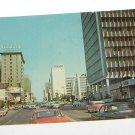 Vintage Postcard Willshire Blvd Los Angeles Ca Texaco & Graylord Building