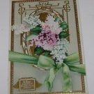 """Vintage Postcard """"Lilac"""" Emblem Of First Emotion Of Love"""
