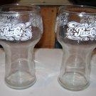 "Set of 2 Vintage Pepsi Cola 6"" Drinking Glasses"