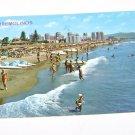 Vintage Postcard Beach Scene Torremolinos Spain