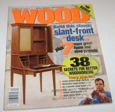 Better Homes and Gardens WOOD magazine Issue 153