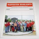 Harvester Highlights Magazine International Harvester Collectors July 2000