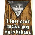 "Vintage Postcard ""Just Can't Make My Eyes Behave"" Girls Face Smiling"