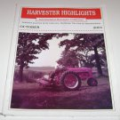 Harvester Highlights Magazine International Harvester Collectors October 2001