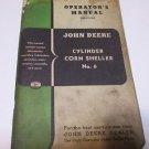 John Deere No. 6 Corn Sheller Operators Manual