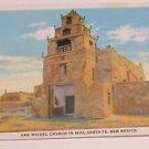 Vintage Postcard San Miguel Church in 1872 Santa Fe New Mexico