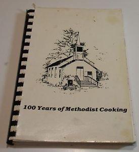 Trout Run United Methodist Church Black River Falls Wisconsin Cookbook 1982