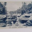 "Vintage Postcard The Narrows Wisconsin Dells, ""Ship Passing Through"""
