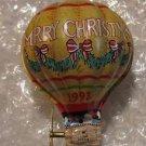 """1993 Hallmark Keepsake Ornament """"Tin Hot Air Balloon"""""""