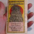 Vintage McCormick Deering Corn Machines Brochure