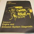 Ford Shop Manual Volume 6 Engine & Emission System Diagnosis 1973