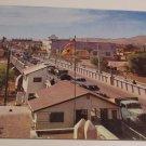 Vintage Postcard International Bridge Juarez Mexico