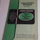 "John Deere Tractor Disk Harrow Model ""SH"" Operator's Manual"