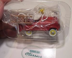 HALLMARK KEEPSAKE 1995 MURRAY FIRETRUCK KIDDIE CAR #2SERIES COLLECTIBLE ORNAMENT