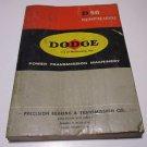 D56 Engineering Catalog Vintage 1956 Power Transmission Machinery