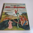 JACK AND THE BEANSTALK  Pictures byTenggren's LITTLE GOLDEN BOOK 1956