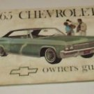 1965 Chevrolet Owners Guide Manual  3rd Ed Feb 1965