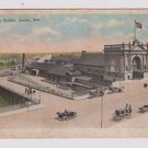 Vintage Postcard Union Station Omaha Nebraska