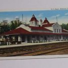 Vintage Postcard N.P Railroad Depot Bismarck North Dakota