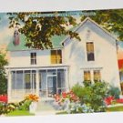 VNTG Postcard Bob Burns Home Van Buren Arkansas