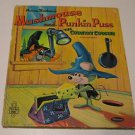 Whitman Tell-A-Tale Book  MUSHMOUSE AND PUNKIN PUSS COUNTRY COUSINS 1964